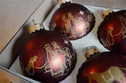holy family ornaments